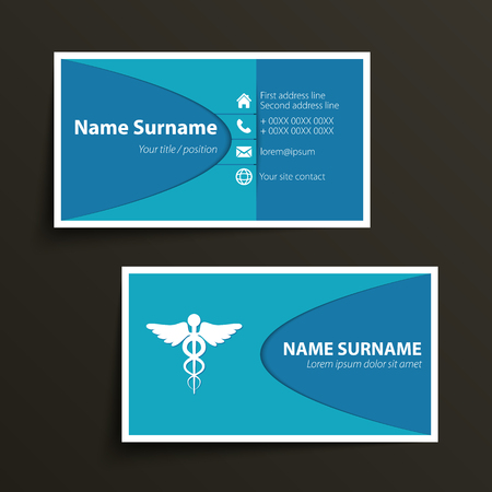 Modern simple business card template vector format royalty free modern simple business card template vector format vector colourmoves