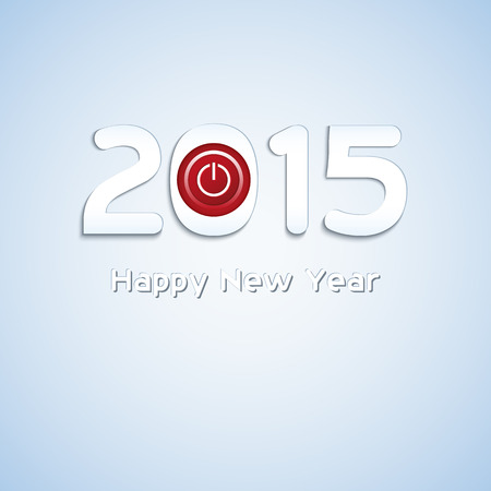 Decorative background for New Year. Vector format. Vector