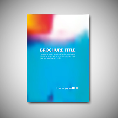 web  web page: Cover brochure template. Vector format.