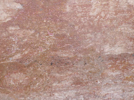 stone wall: wall made from red marble, in an edifice