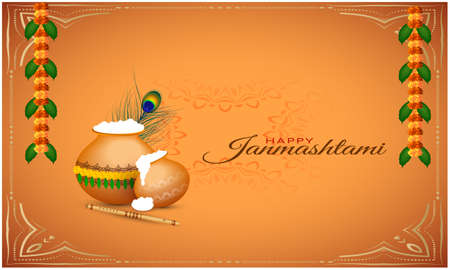traditional indian festival elements on abstract background