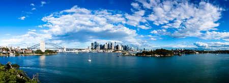 panorama city panorama: Un panorama de la CDB Sydney durante el d�a