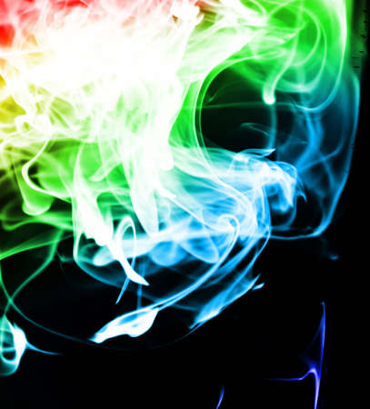 Colourful Abstracts Swirls photo