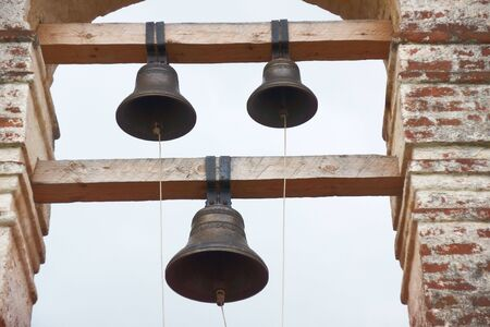 Ancient church bells on belfry tower Stock Photo - 8190639