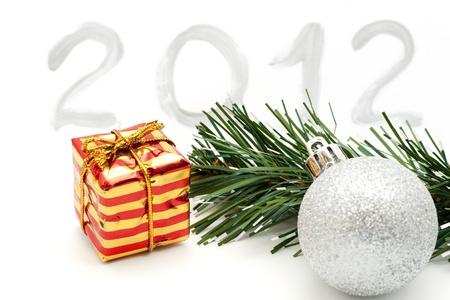 New year 2012 decoration