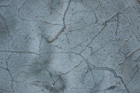 Surface of natural  gray-blue with streaks stone as background Stock Photo