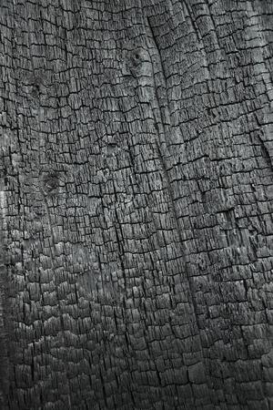 Burned wood as  background