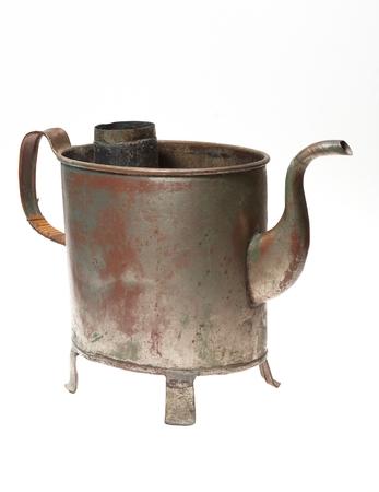 Old metal Kettle