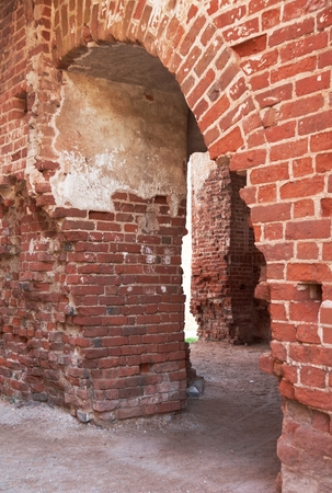 earlier: Brick arch of Tartu Cathedral, Estonia, earlier as Dorpat Cathedral