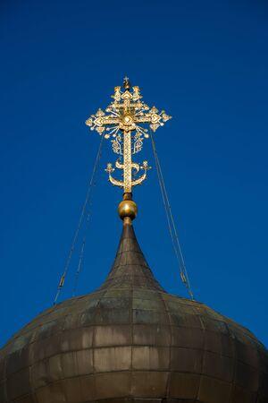 Dome of Saint George Cathedral (1230-1234). Yuryev-Polsky, Vladimir region, Russia