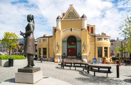 Kuopio City Hall (Kauppa Halli), Northern Savonia, Finland Stock fotó - 96342408