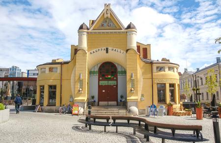 Kuopio City Hall (Kauppa Halli), Northern Savonia, Finland Stock fotó - 96366534