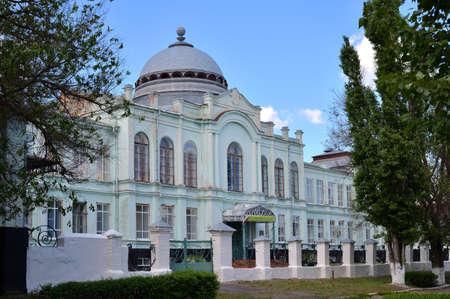 Pavlovsk, Voronezh region, Russia, May 10, 2016: Pavlovsky branch of Provincial Teachers College, building of former secondary school