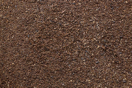 Abstract background of vermicompost for planting in the nursery.