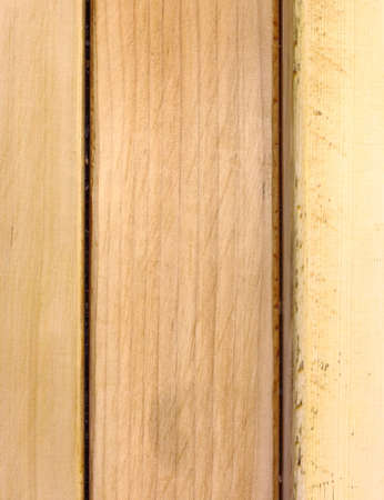 Close up of vertical wooden background with seam pattern. Stock Photo