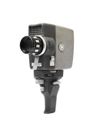 Alter Kamera-Film isolated on white background