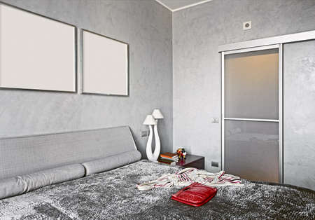 architectural interiors: modern bedroom