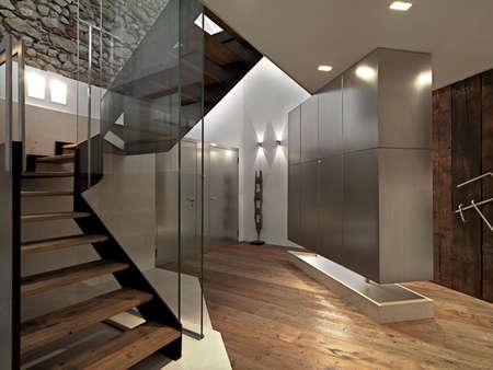 living room overlooking on the main door with wooden floor