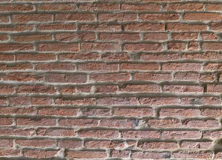foreground of a brick wall  Lizenzfreie Bilder