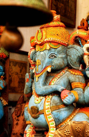 pious: Lord Ganesha in a blessing posture