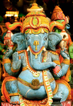 blessing: Lord Ganesha in a blessing posture