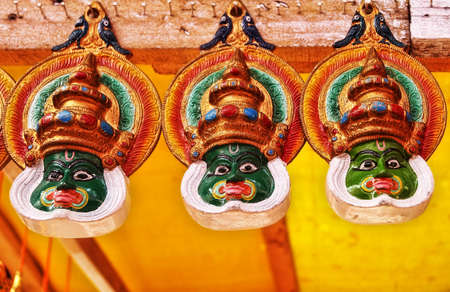kathakali: The Hanging Kathakali Masks
