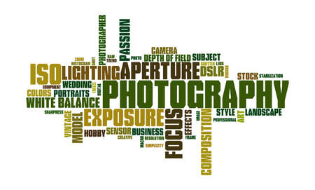 photoshoot: Photography Word Cloud