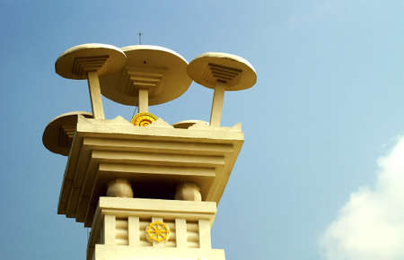 lord buddha: The Umbrellas depicting the sacred teachings of Lord Buddha