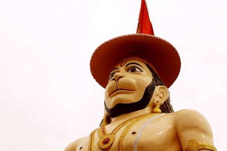 hanuman: HAnuman the mighty in a blessing posture