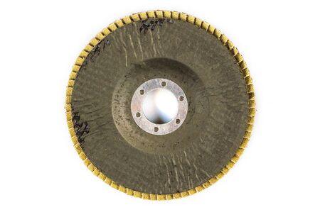 a circle sand paper Banque d'images - 137330428