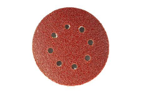 a circle sand paper