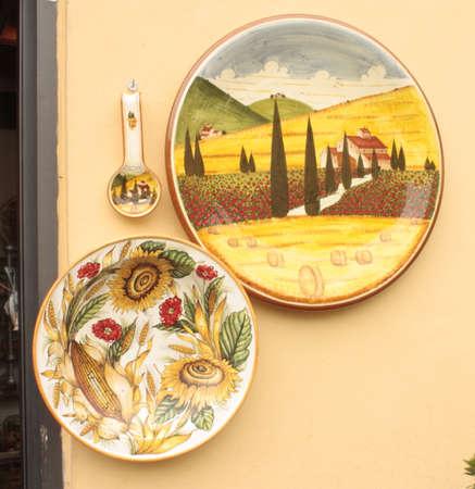 ceramica: Cer�mica toscanas Foto de archivo