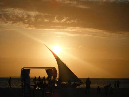 zanzibar: Sunset in Zanzibar