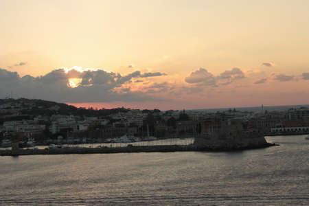 rhodes: Greece sunset in Rhodes