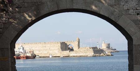 rhodes: Rhodes, the port