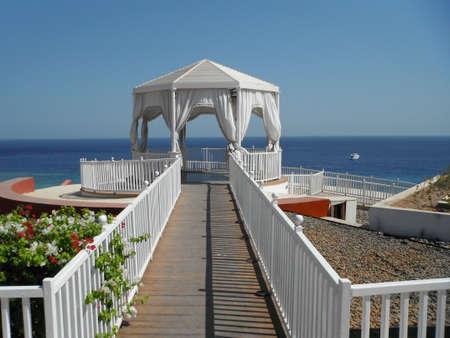 gazebo: Pier with a gazebo