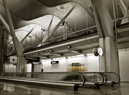 Terminal 4 - International Madrid Airport - Spain