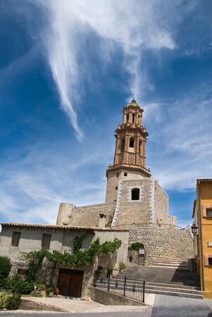 mudejar: The Alcudia bell tower  Mudejar bell tower located in Jerica  region of Valencia  Spain
