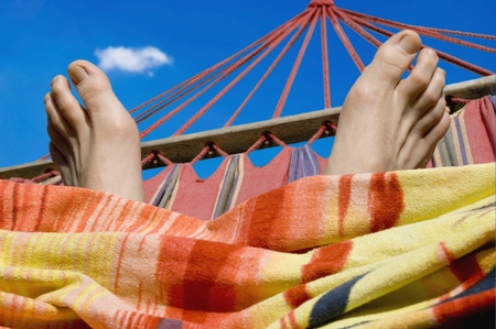 relaxation in the sun Stock Photo - 10481303