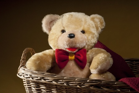 playthings: teddy bear Stock Photo