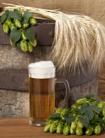 still life with beer Stock Photo - 10566278