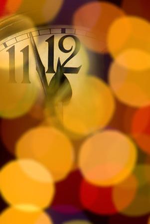 Neues Jahr Uhr