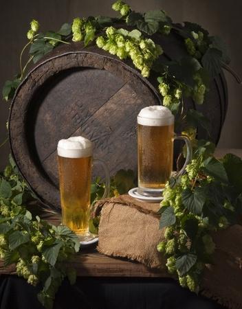 still life with beer Standard-Bild