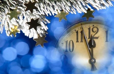 新年時計 写真素材 - 10600886