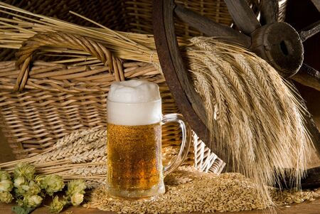 still life with beer Stock Photo - 10617151