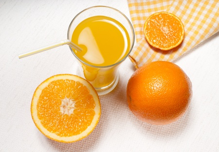 orange juice Standard-Bild