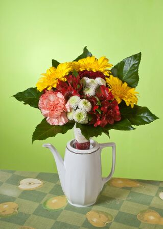 gillyflower: bunch of flowers Stock Photo