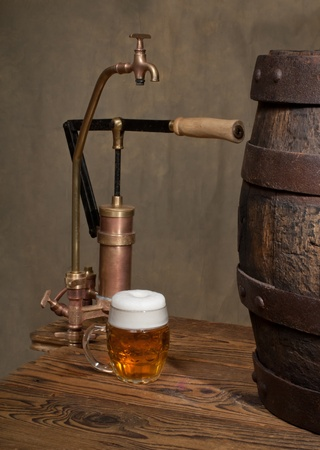 still life with beer Stock Photo - 13987196