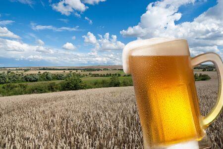 beer tap: beer Stock Photo