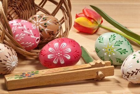 easter eggs Stock Photo - 15539389